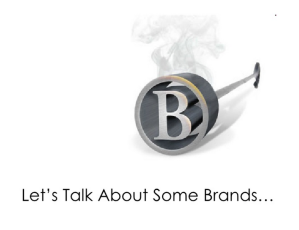 """a Powerpoint slide from Jennifer McClure's seminar, """"Personal Branding for Career Growth"""""""